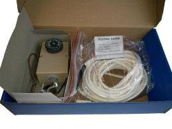 Нагревател за външно тяло с регулируем термостат (от -35 до +35 градуса по Целзий) 1м. студена зона и 2м. топла зона