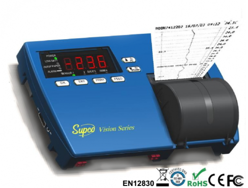 4 Channel Vision Recorder Series (Data Logger) with Printer