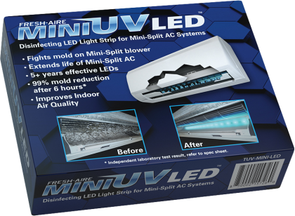 Fresh Air Mini UV is the first-of-its-kind UV light LED system
