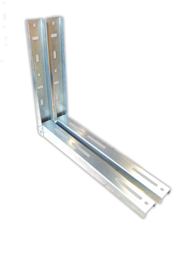 Zn gavanised Stand (support bracket) - collapsed , for air-conditioner up to 12000Btu   L= 500 2mm  (SA53)