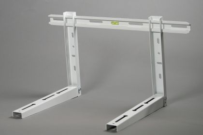 Zn gavanised Stand (support bracket) -Foldable with incorporated level into the bar , for air-conditioner up to 12000Btu  L= 450  2mm  (CC4570)