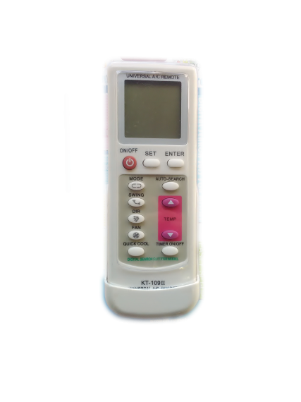 Universal A/C Remote Control KT-109 II