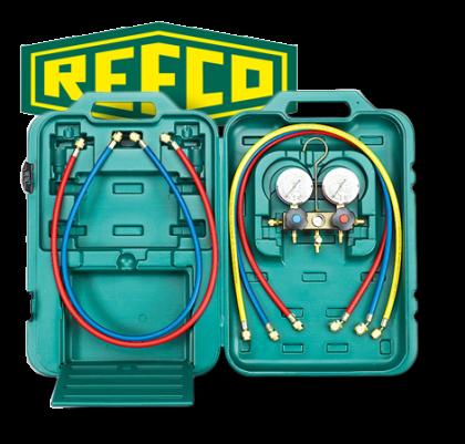 Centro Clima Ltd Manifold Gauge 2 Way Refco R22