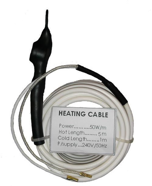 Hvac Power Cable : Centro clima ltd heating cable with thermostat flexible
