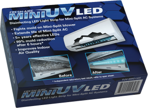 Mini UV DST is the first-of-its-kind UV light LED system