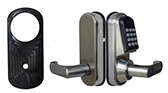Electronic code locks with regular single latch - LEFT