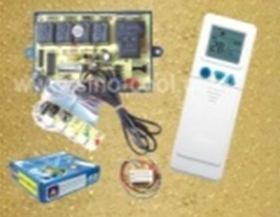 Electronic board with LEDs for air conditioners