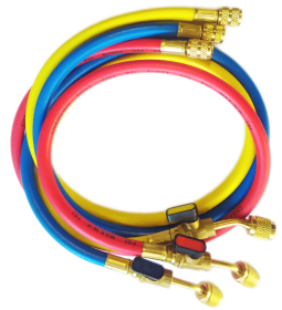 Charging Hose R410 - SET ( 120cm) with Valve