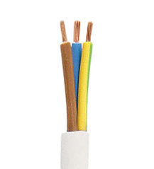 Electrical Cable 3x1.00 mm type H05VV F