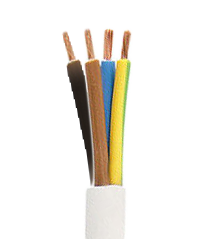 Electrical Cable 4x1.00 mm type H05VV F